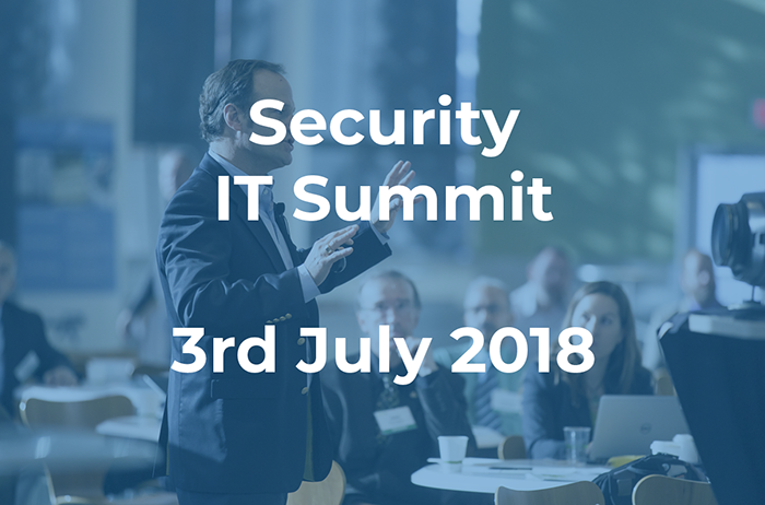security IT summit 2018